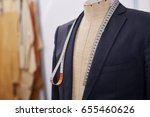 custom made tailored suit on... | Shutterstock . vector #655460626