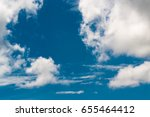 the sky is beautiful and the... | Shutterstock . vector #655464412