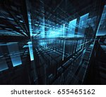 abstract technology... | Shutterstock . vector #655465162