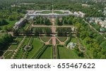 Aerial View Of Catherine Palace ...