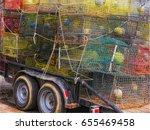Colorful Louisiana Crab Traps...