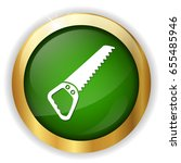 hand saw icon | Shutterstock .eps vector #655485946