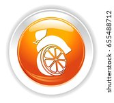 green lemon icon | Shutterstock .eps vector #655488712