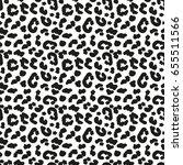 white leopard skin seamless... | Shutterstock .eps vector #655511566