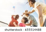 happy family with parents and...   Shutterstock . vector #655514488