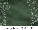 abstract background. a... | Shutterstock .eps vector #655524202