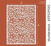ornamental panels template for... | Shutterstock .eps vector #655529542