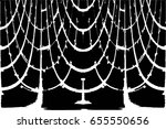 grunge black and white urban... | Shutterstock .eps vector #655550656