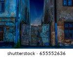 night backstreet | Shutterstock . vector #655552636