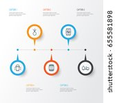 garden icons set. collection of ...   Shutterstock .eps vector #655581898