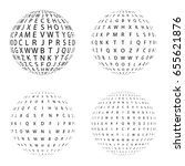 set of halftone circles...   Shutterstock .eps vector #655621876