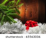 merry christmas and happy new... | Shutterstock . vector #65563036