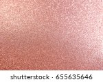 Stock photo rose gold abstract glitter background 655635646
