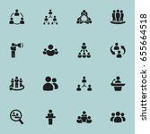 set of 16 editable community...