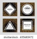 abstract vector layout... | Shutterstock .eps vector #655683472