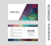 abstract vector layout... | Shutterstock .eps vector #655684126