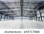 empty warehouses | Shutterstock . vector #655717888