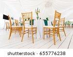 beautifully organized event  ... | Shutterstock . vector #655776238