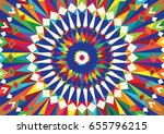 morocco colourful template.... | Shutterstock . vector #655796215