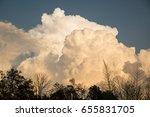 rain clouds | Shutterstock . vector #655831705