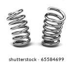 bended spring | Shutterstock . vector #65584699