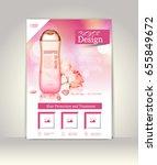flyer  brochure or magazine... | Shutterstock .eps vector #655849672
