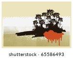 surf retro grunge background... | Shutterstock .eps vector #65586493