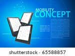 mobility communication template.... | Shutterstock .eps vector #65588857