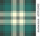 check plaid fabric pixel... | Shutterstock .eps vector #655912402