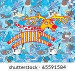 christmas vector   Shutterstock .eps vector #65591584