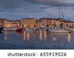 rovinj  croatioa  september 24  ... | Shutterstock . vector #655919026