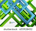 rectangle tube elements  vector ... | Shutterstock .eps vector #655928452