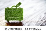 ecology tourism concept. 3d... | Shutterstock . vector #655945222