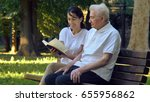 a nanny  a nurse  caring for... | Shutterstock . vector #655956862