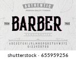 font. alphabet. script.... | Shutterstock .eps vector #655959256