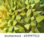 green durian peel low poly... | Shutterstock .eps vector #655997512