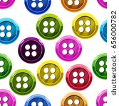seamless pattern with button