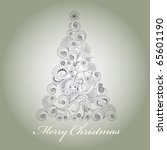 christmas card | Shutterstock .eps vector #65601190