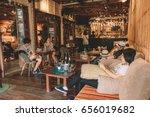amphawa thailand  may 13 2017   ... | Shutterstock . vector #656019682
