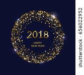 golden splash or glittering...   Shutterstock .eps vector #656022952
