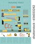 building tools website template ... | Shutterstock .eps vector #656033242