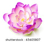 Stock photo lotus flower 65605807