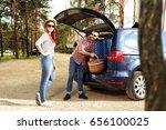 summer car trip  | Shutterstock . vector #656100025