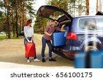 summer car trip  | Shutterstock . vector #656100175