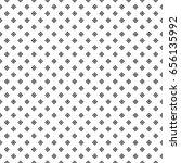 hollow black rhombuses... | Shutterstock .eps vector #656135992