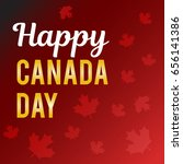 canada day. vector illustration | Shutterstock .eps vector #656141386
