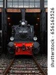 old steam locomotive  germany  | Shutterstock . vector #656163526