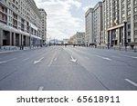 street is the okhotnyy ryad   Shutterstock . vector #65618911