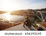 travel photographer doing... | Shutterstock . vector #656193145