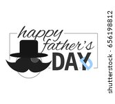 illustration for the father's...   Shutterstock . vector #656198812